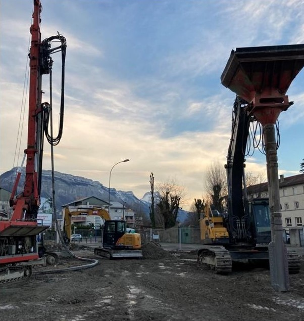 Chantier Trio Verde Grenoble